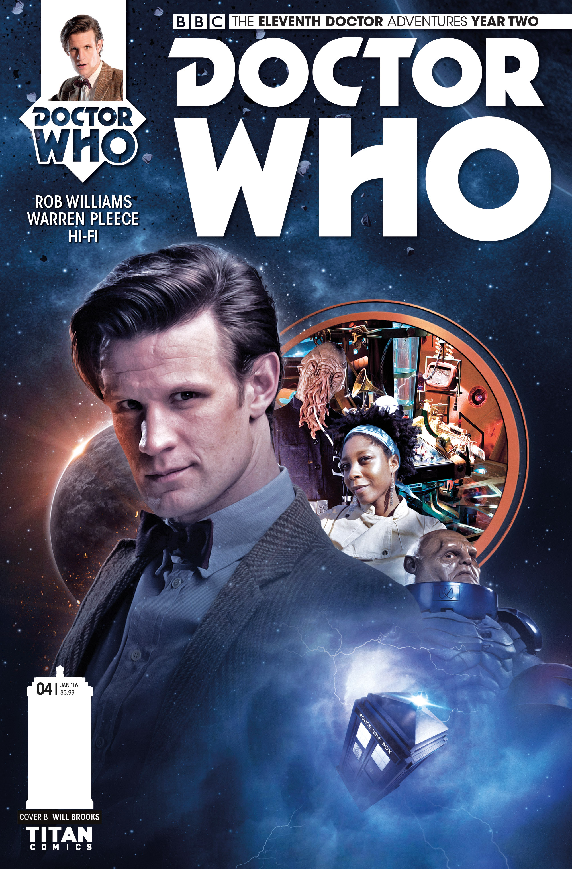 DOCTOR WHO: THE ELEVENTH DOCTOR #2.4 Cover