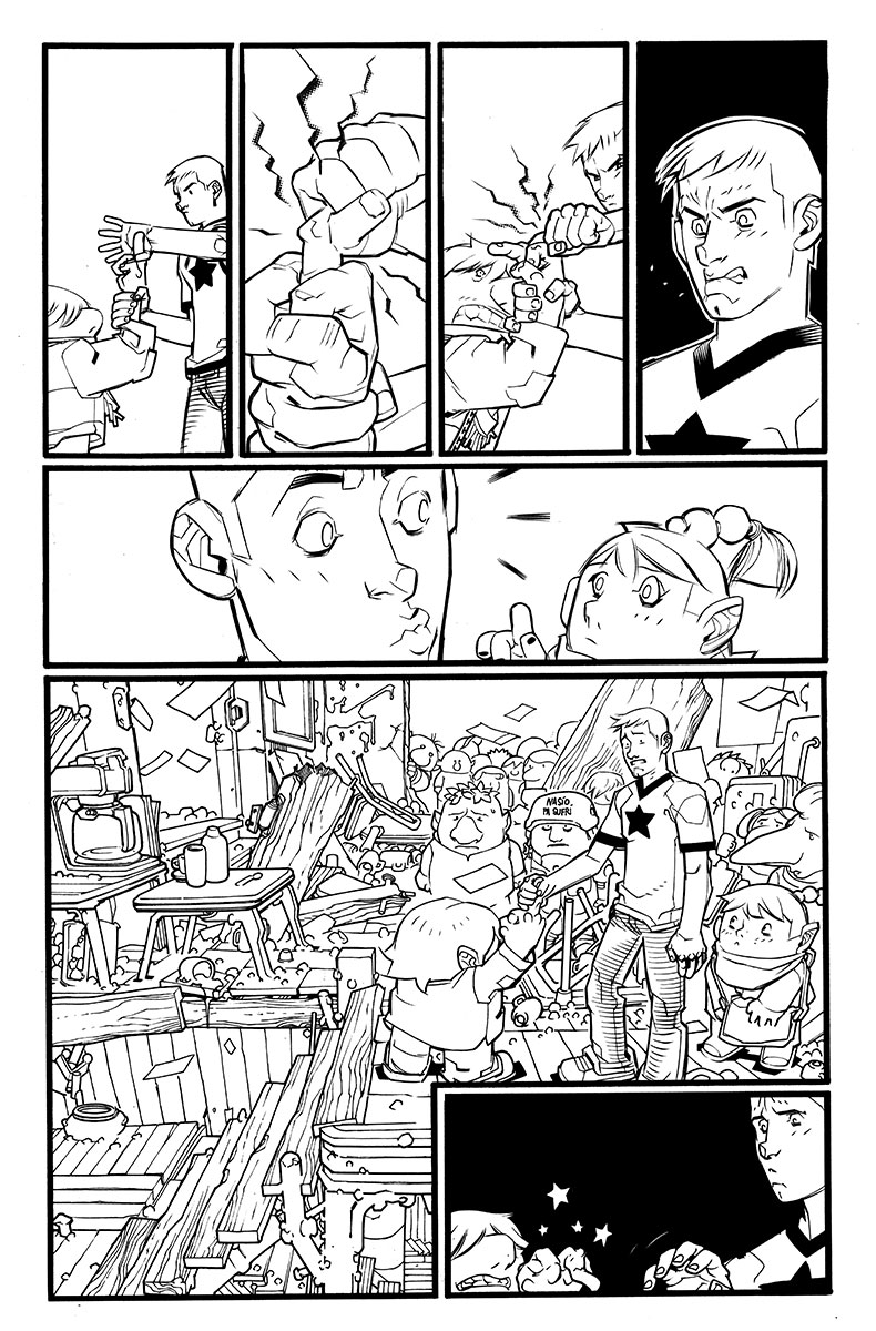 A&A: The Adventures of Archer & Armstrong #1 Preview Page