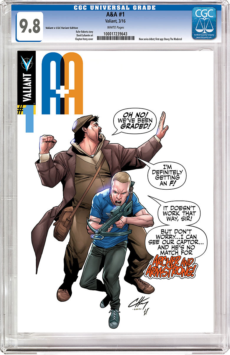 A&A: The Adventures of Archer & Armstrong #1 Cover