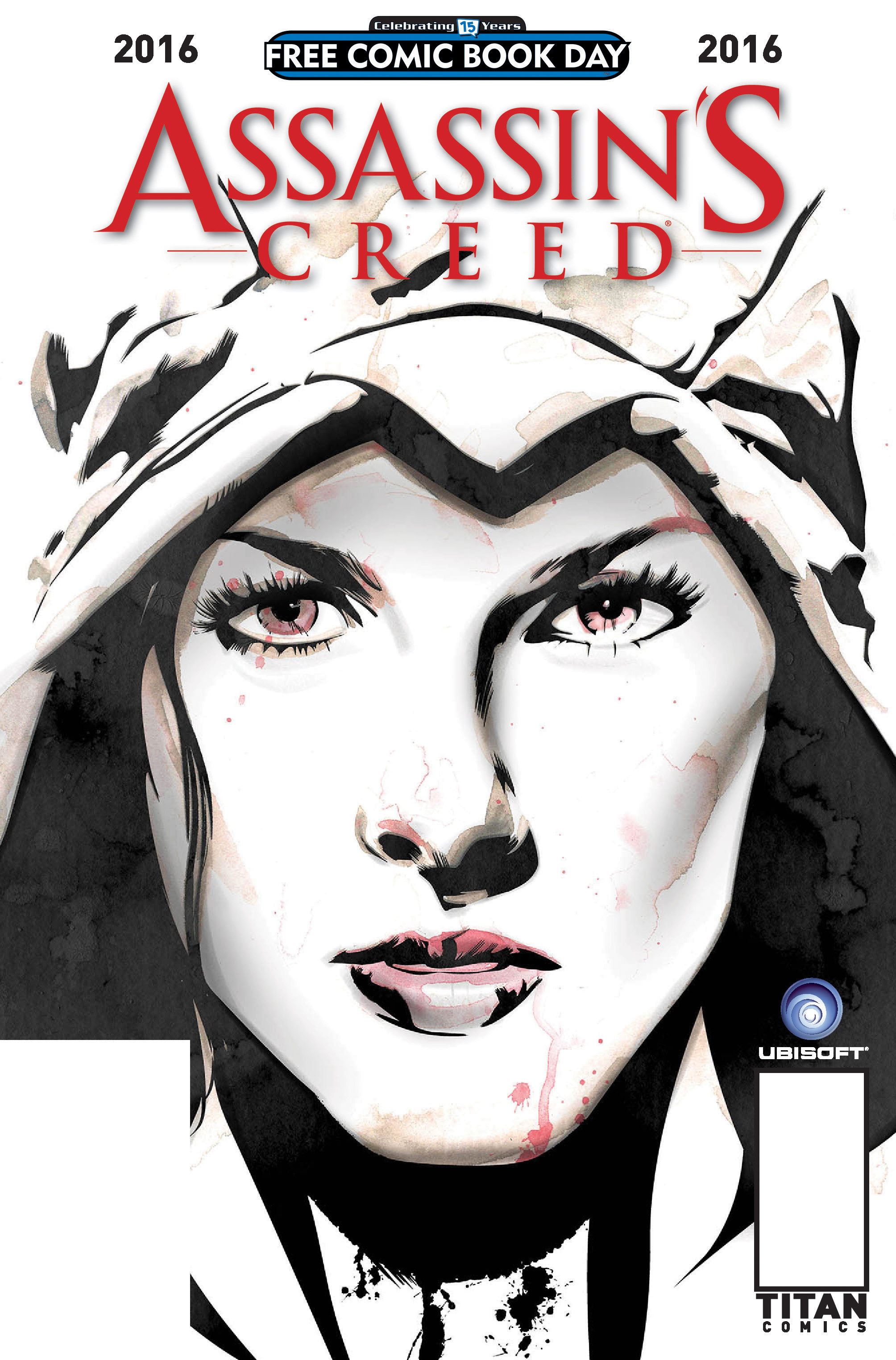 Assassin's Creed Free Comic Book Day 2016 Cover