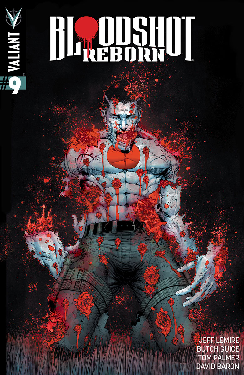 Bloodshot Reborn #9 Cover