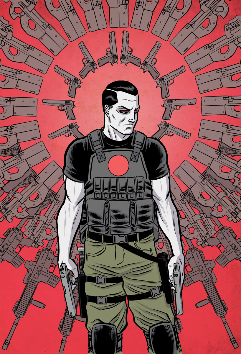 Bloodshot Reborn 2016 Annual #1 Cover