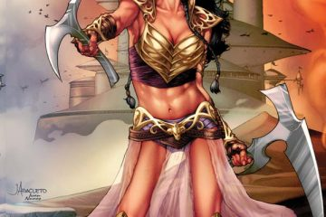 Dejah Thoris #1 Cover