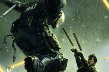 Deus Ex #1 Cover