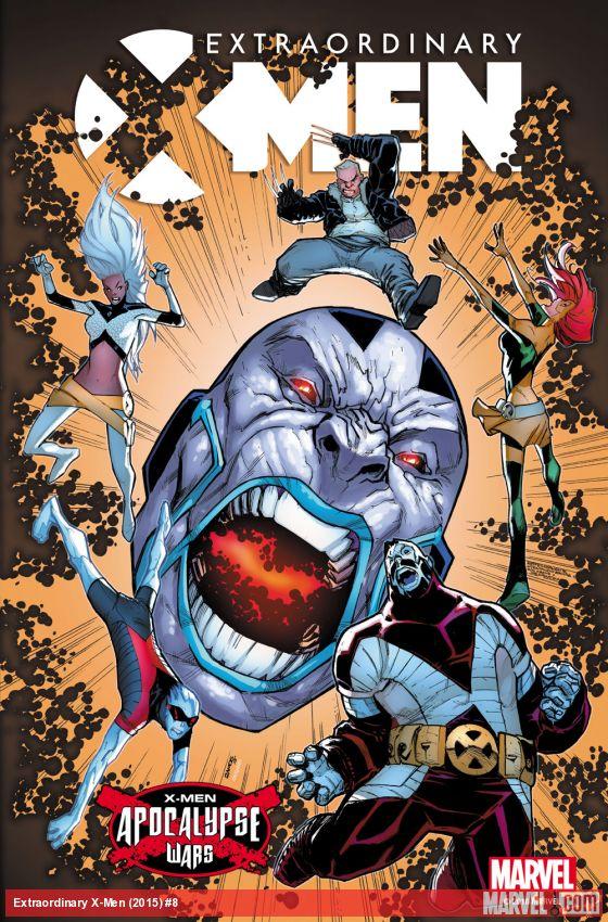 Extraordinary X-Men #8 Cover by Humberto Ramos