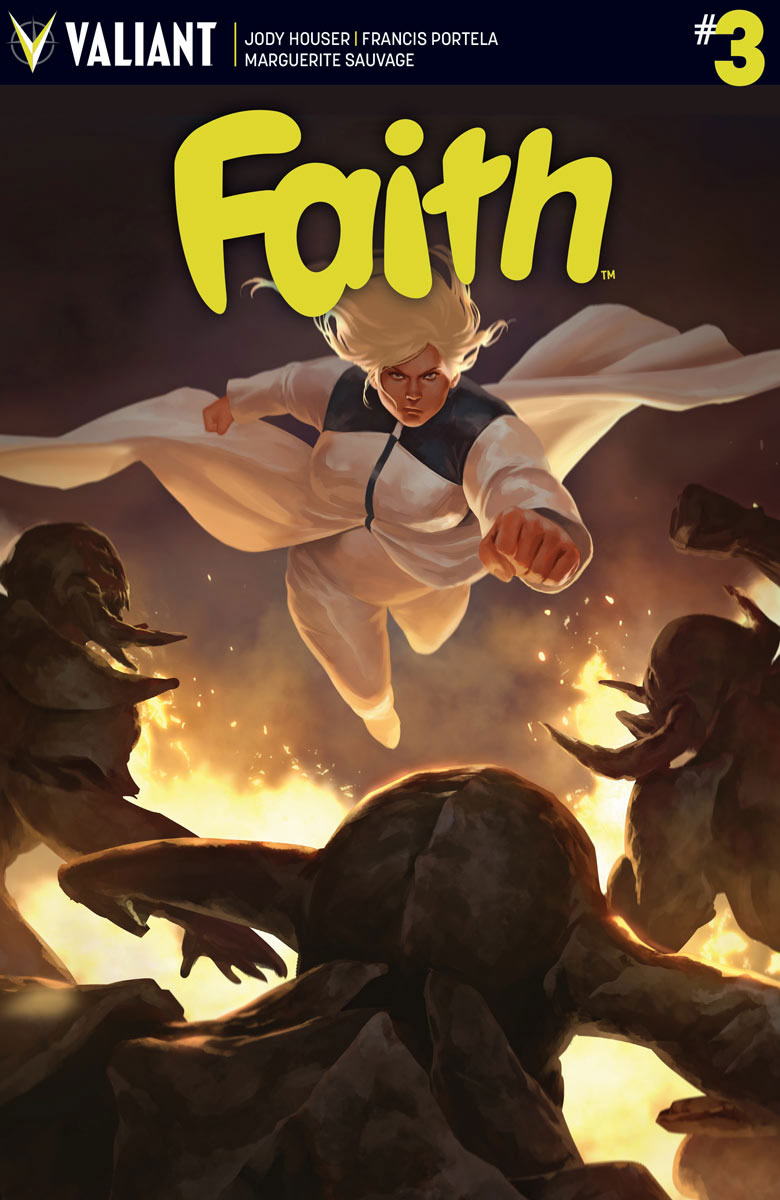 Faith #4 Cover