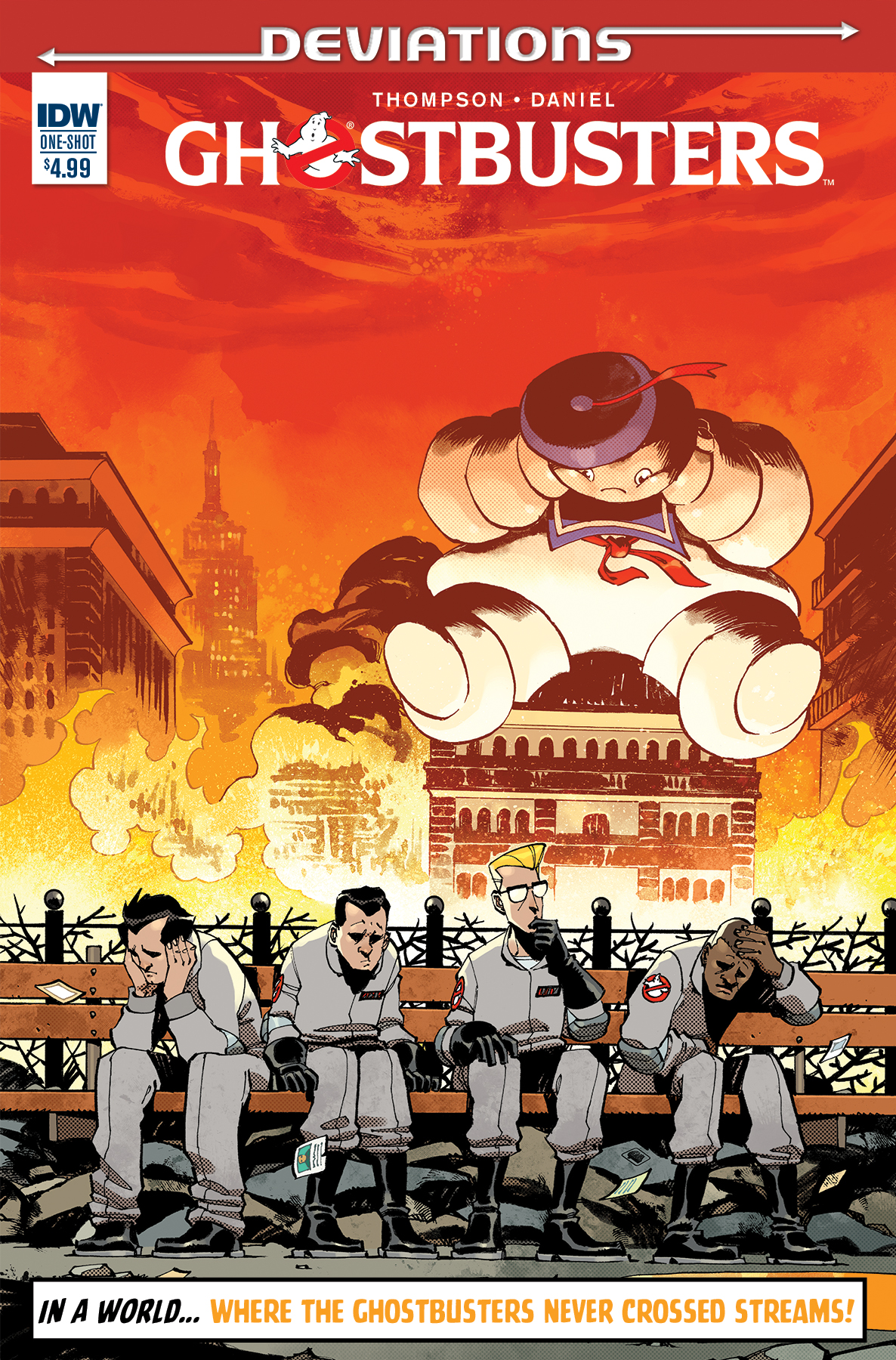 Ghostbusters Deviation Cover