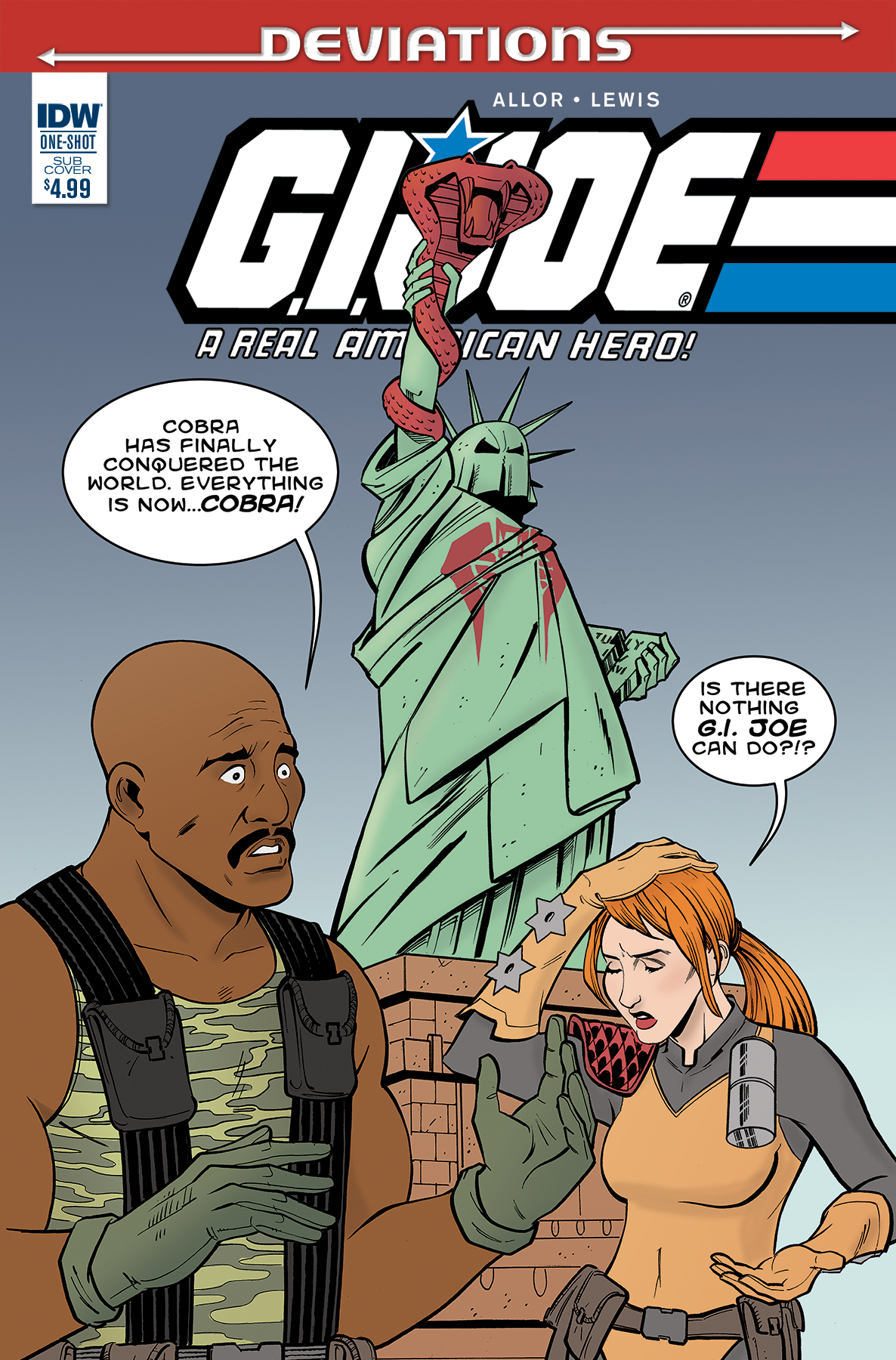 G.I. JOE Deviations Cover