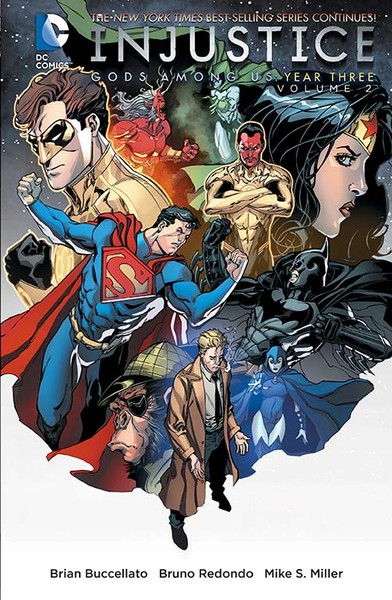 INJUSTICE: GODS AMONG US YEAR THREE VOL. 2 TP Cover