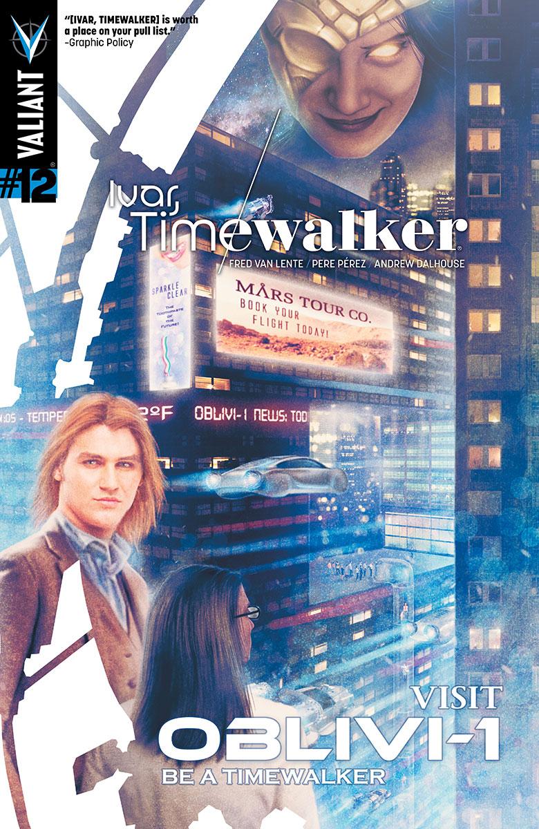 Ivar Timewalker #12 Cover