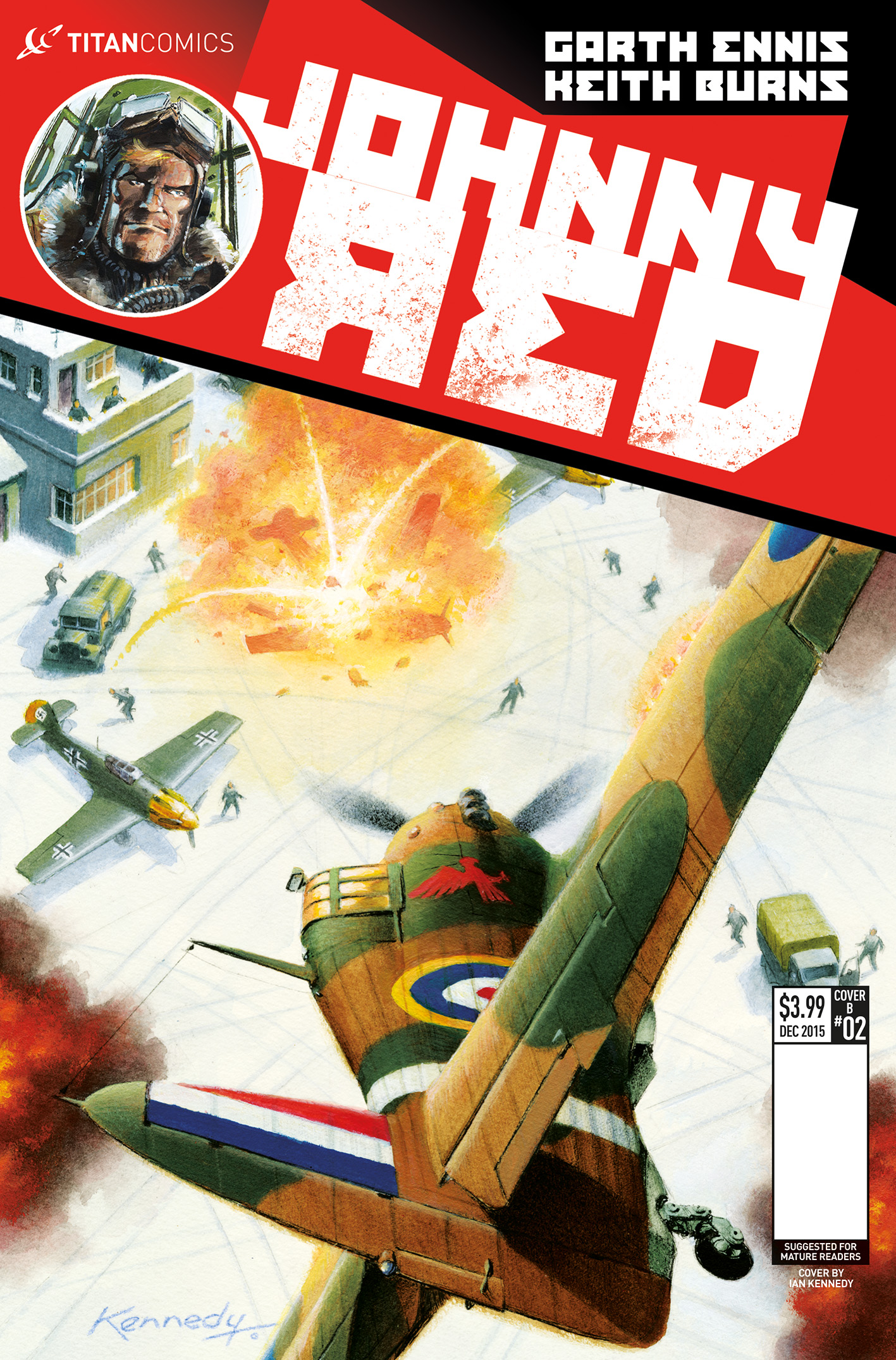 Johnny Red #2 Cover