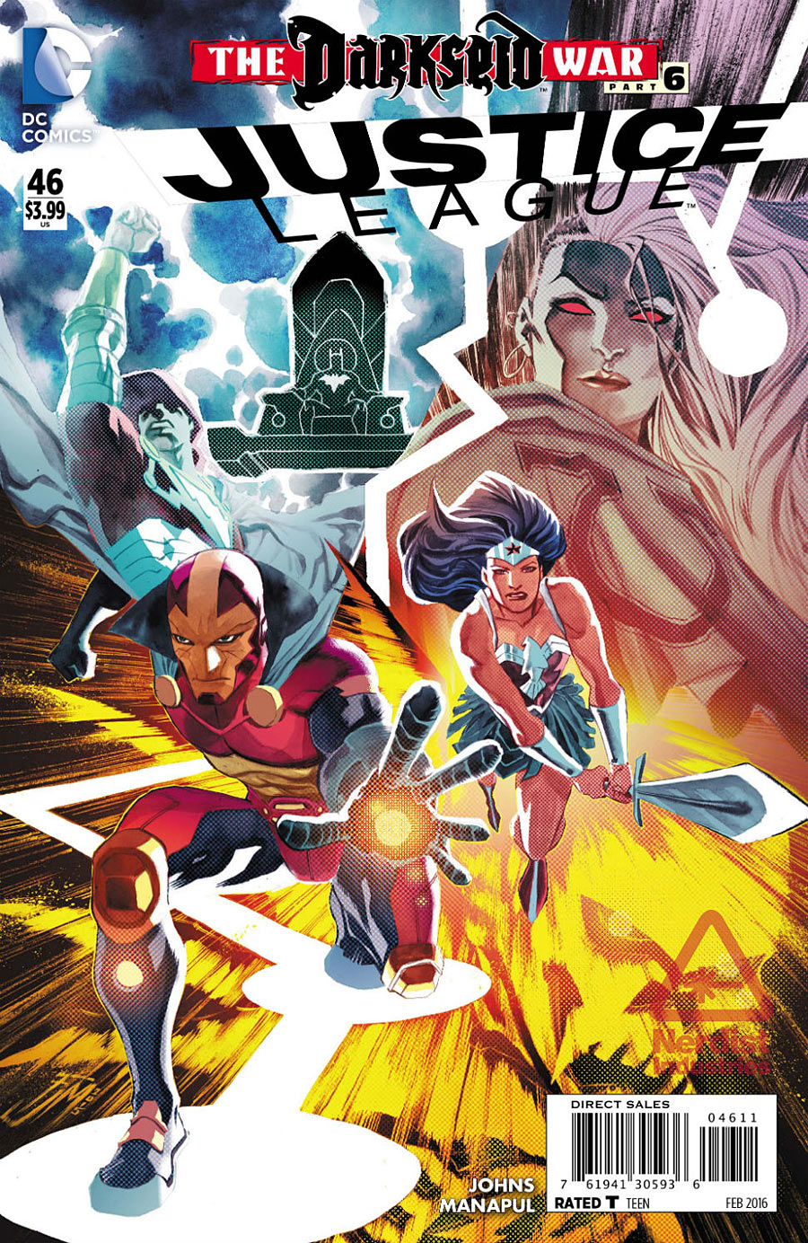Justice League #46 Cover