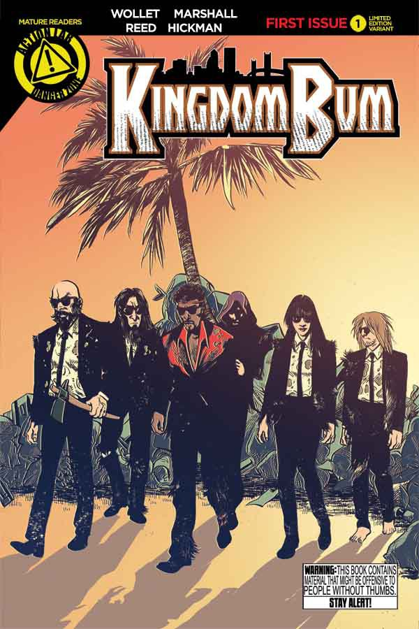 Kingdom Bum #1 Cover