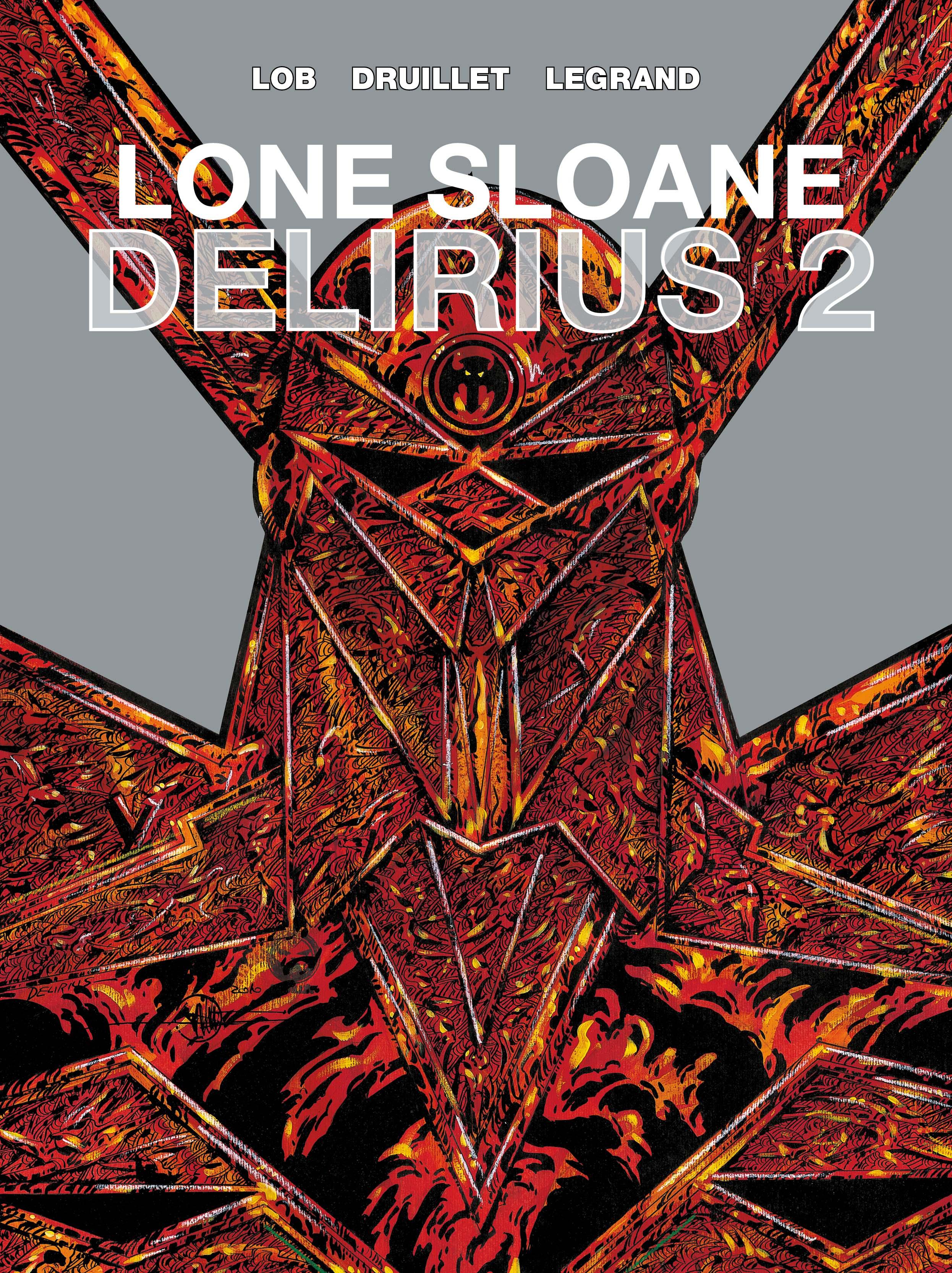 Lone Sloane: Delirius 2 Cover