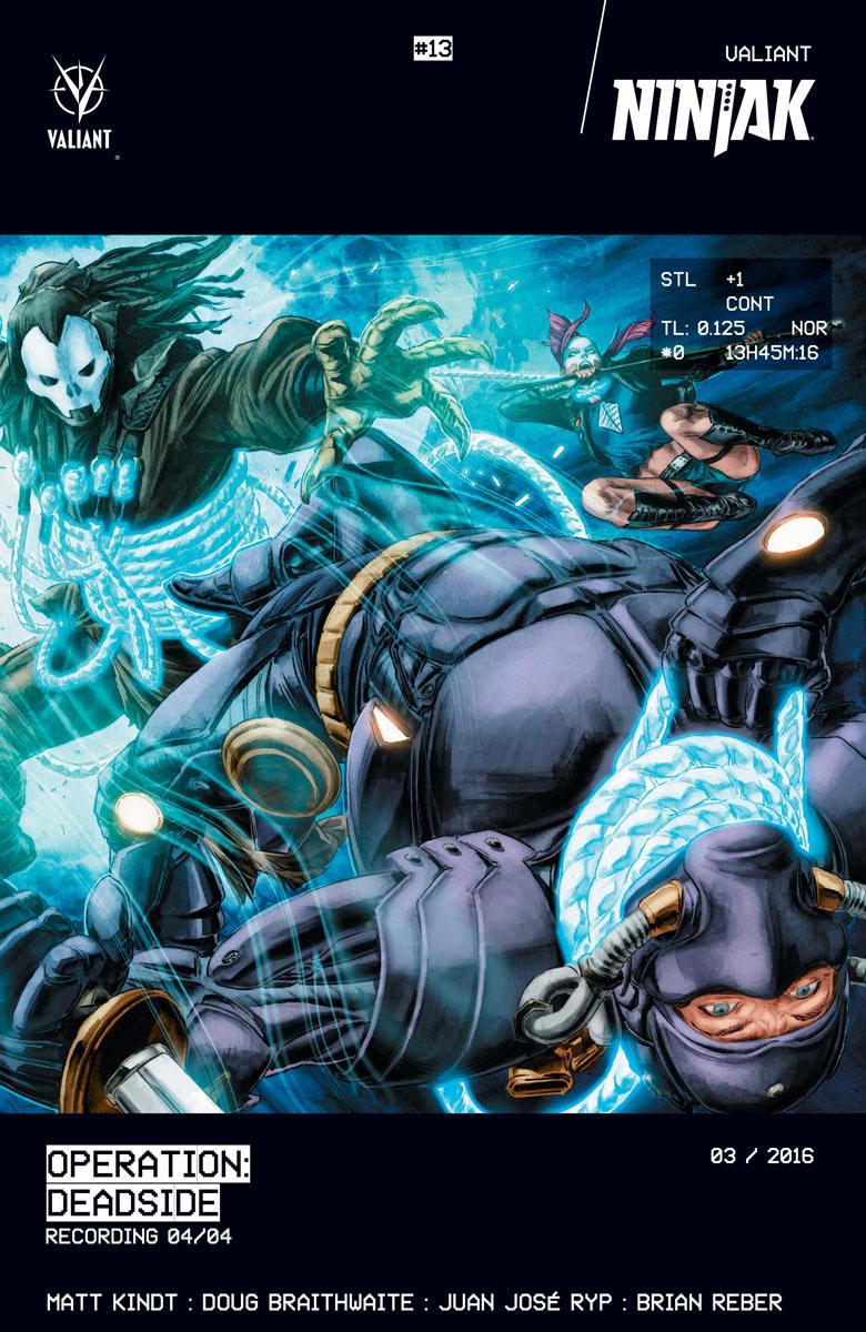 Ninjak #13 Cover