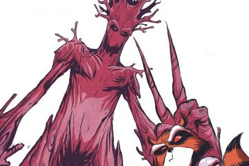 Rocket Raccoon and Groot #1 Cover