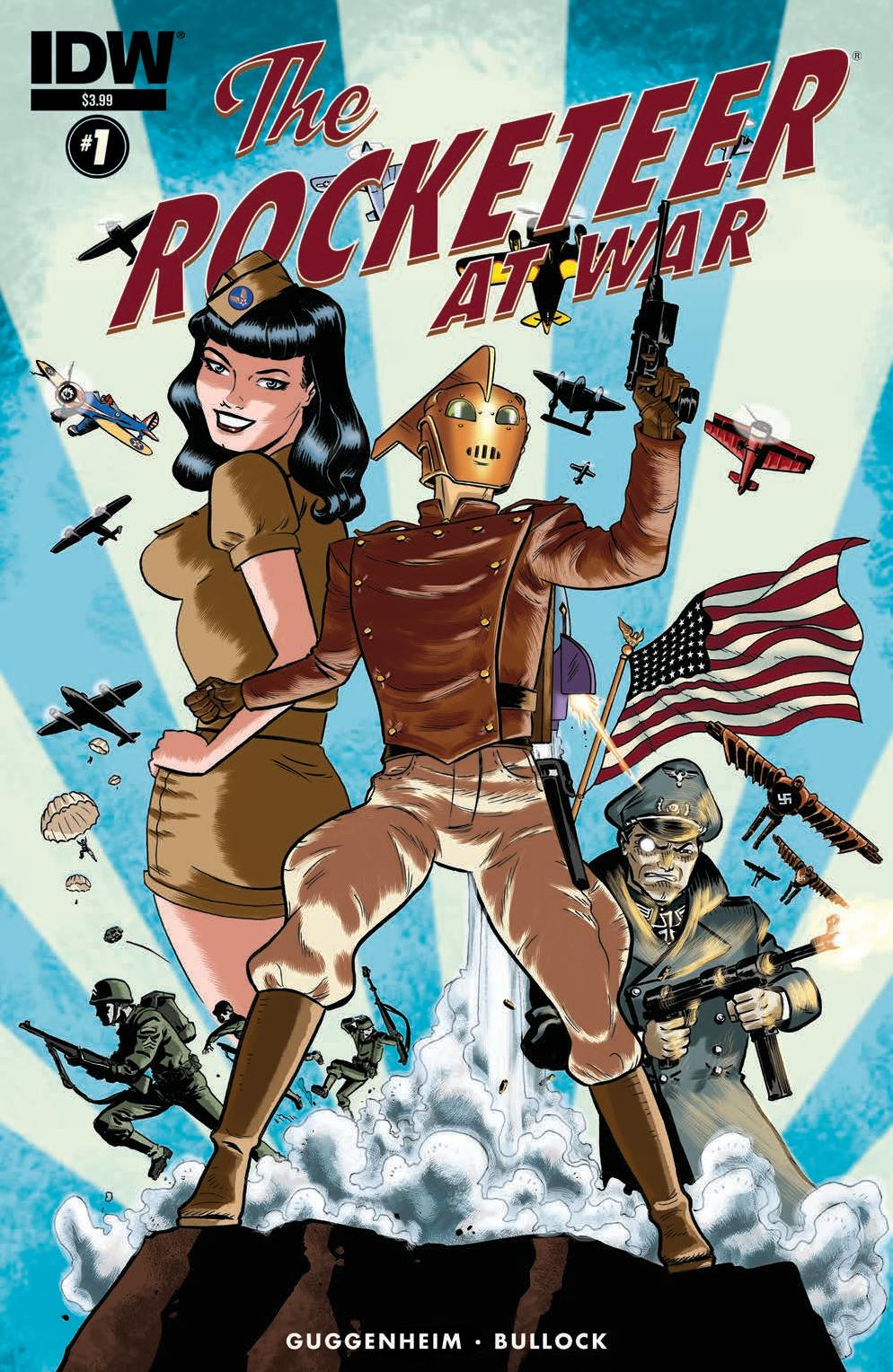The Rocketeer at War #1 Cover