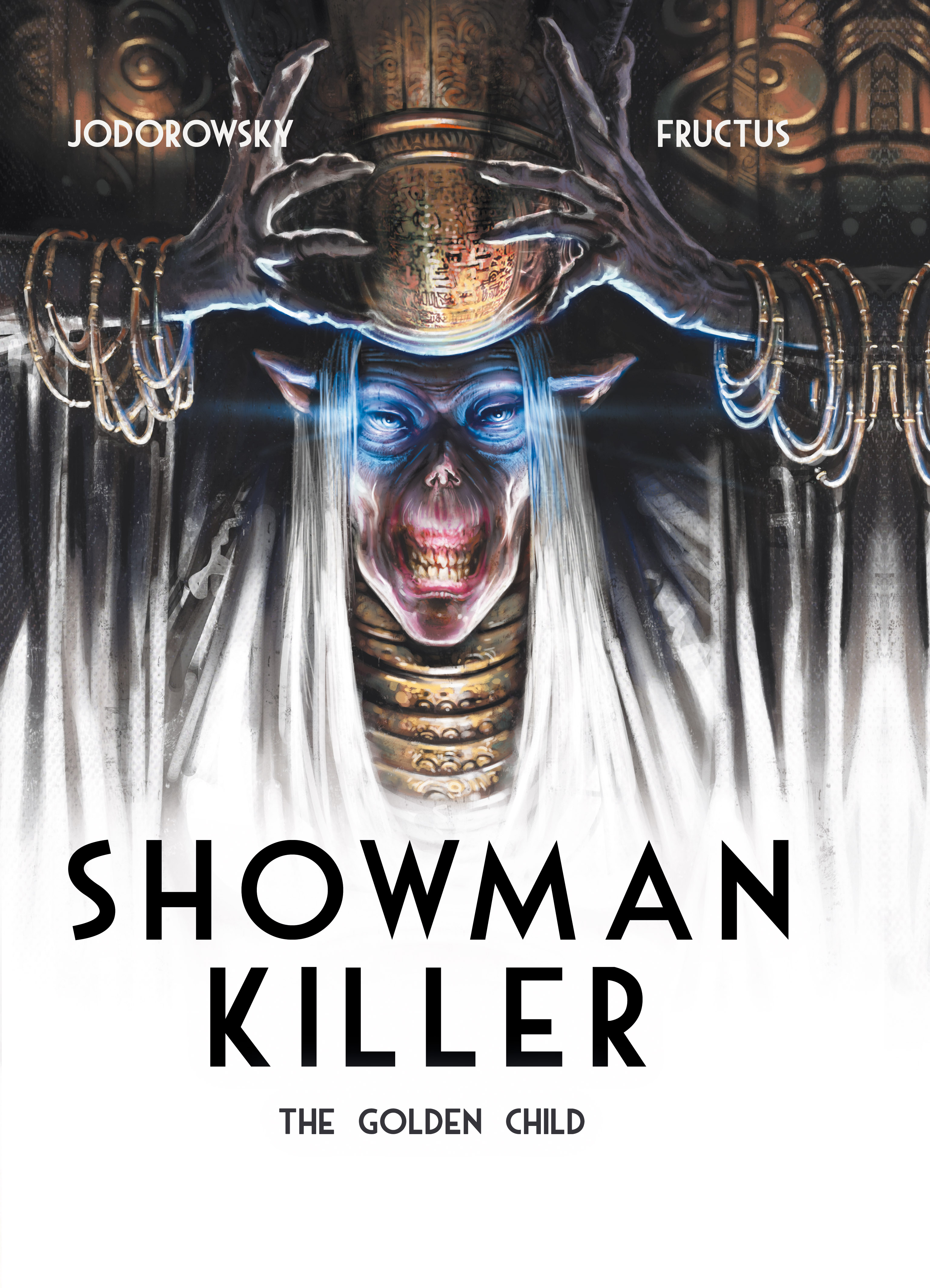 Showman Killer: The Golden Child Cover