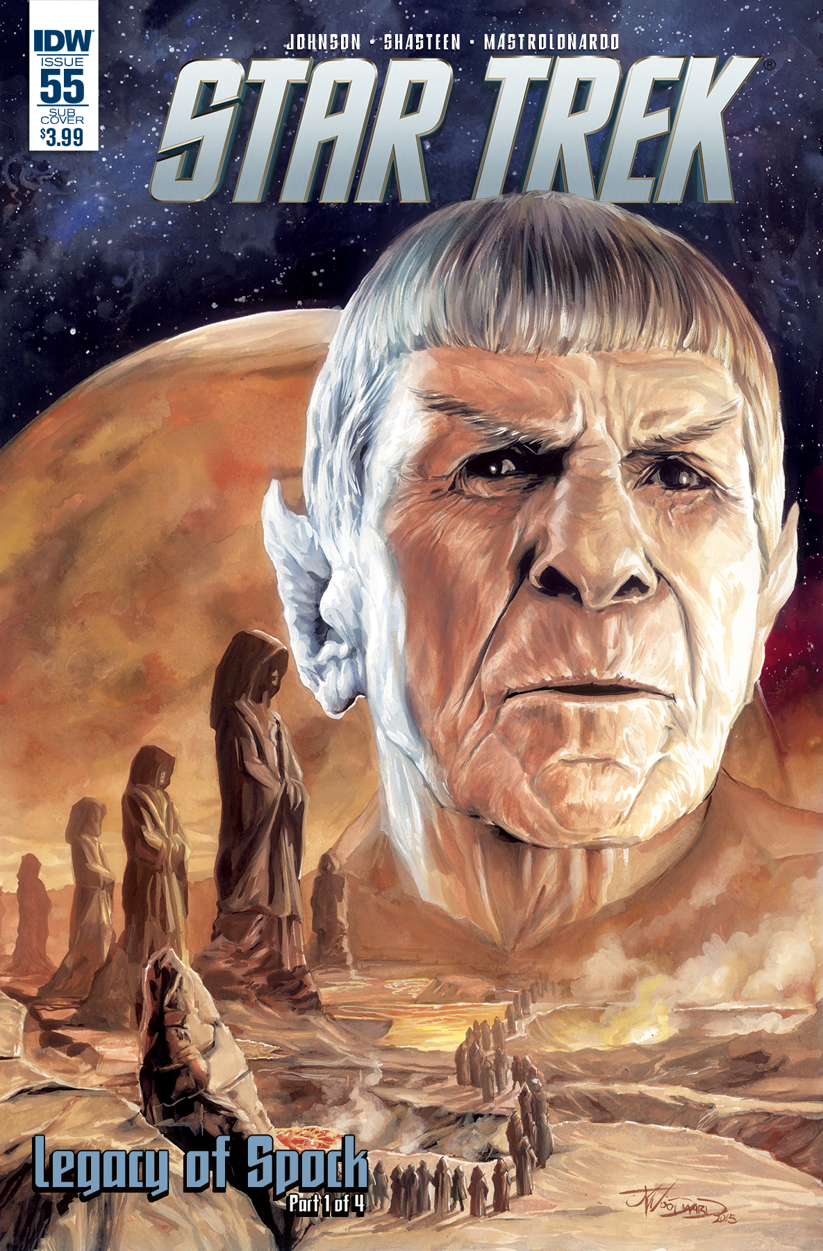 Star Trek #55 Legacy of Spock Part One Cover