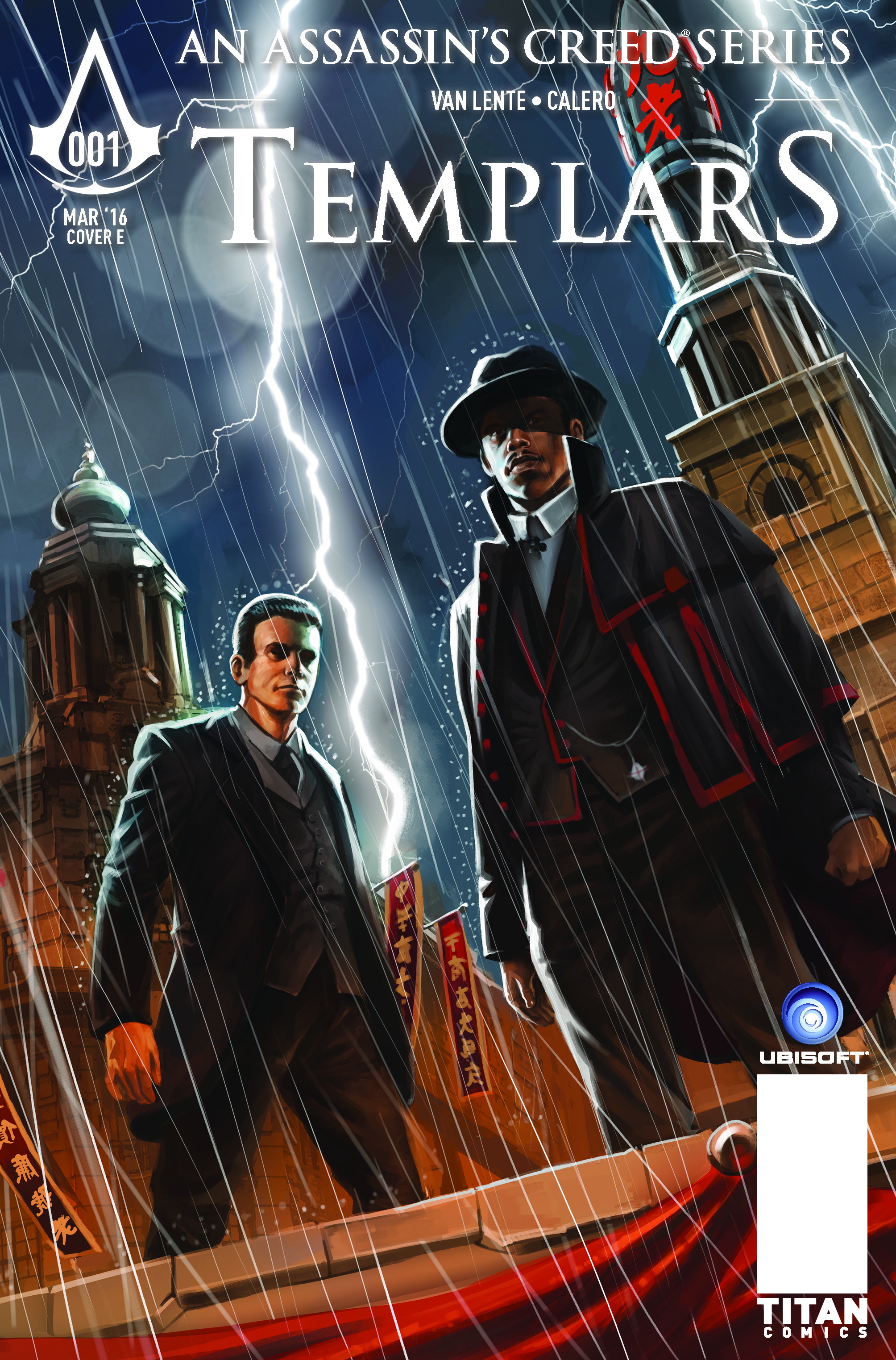 Assassin's Creed: Templars #1 Cover