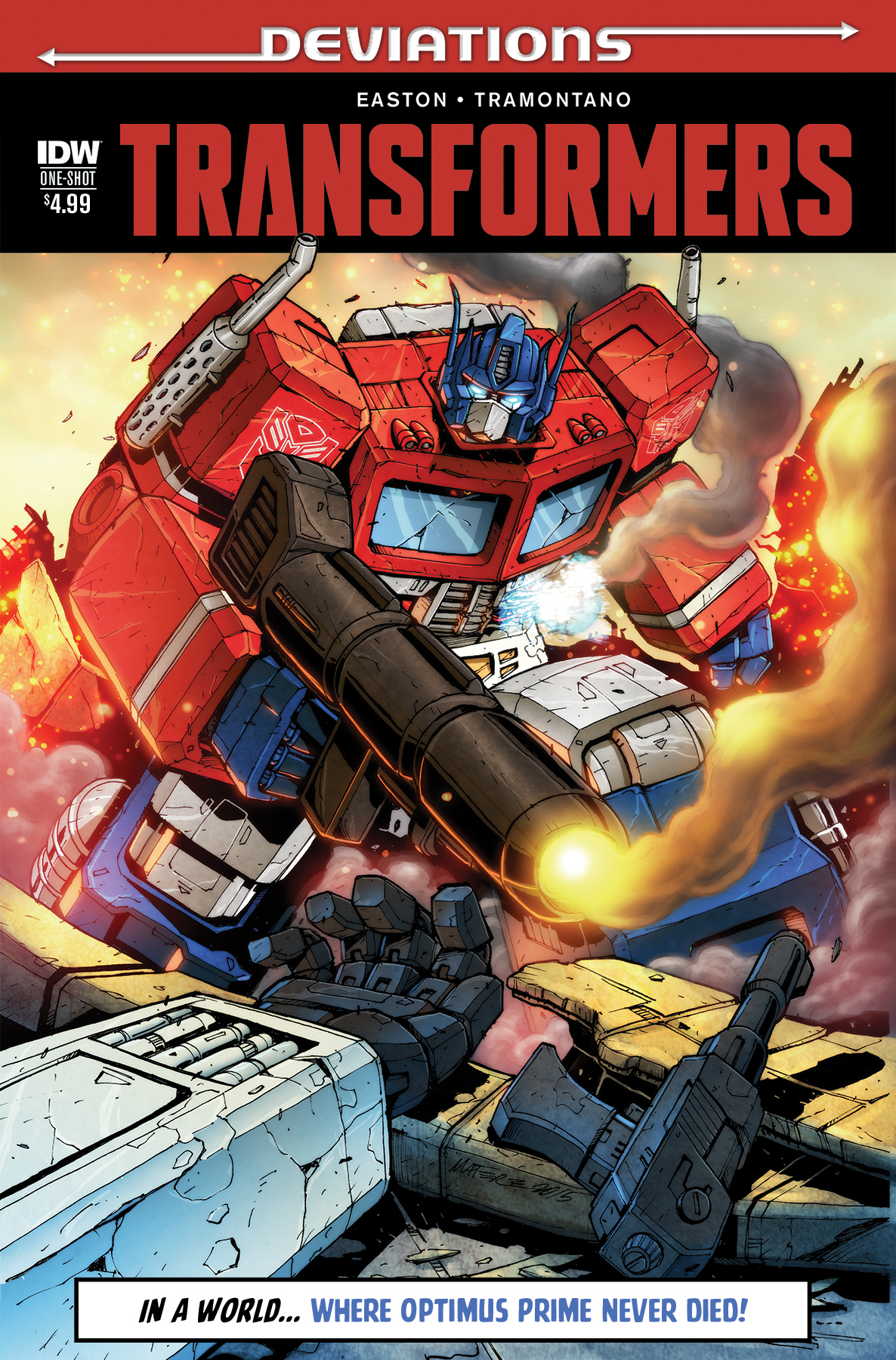 Transformers Deviations Cover