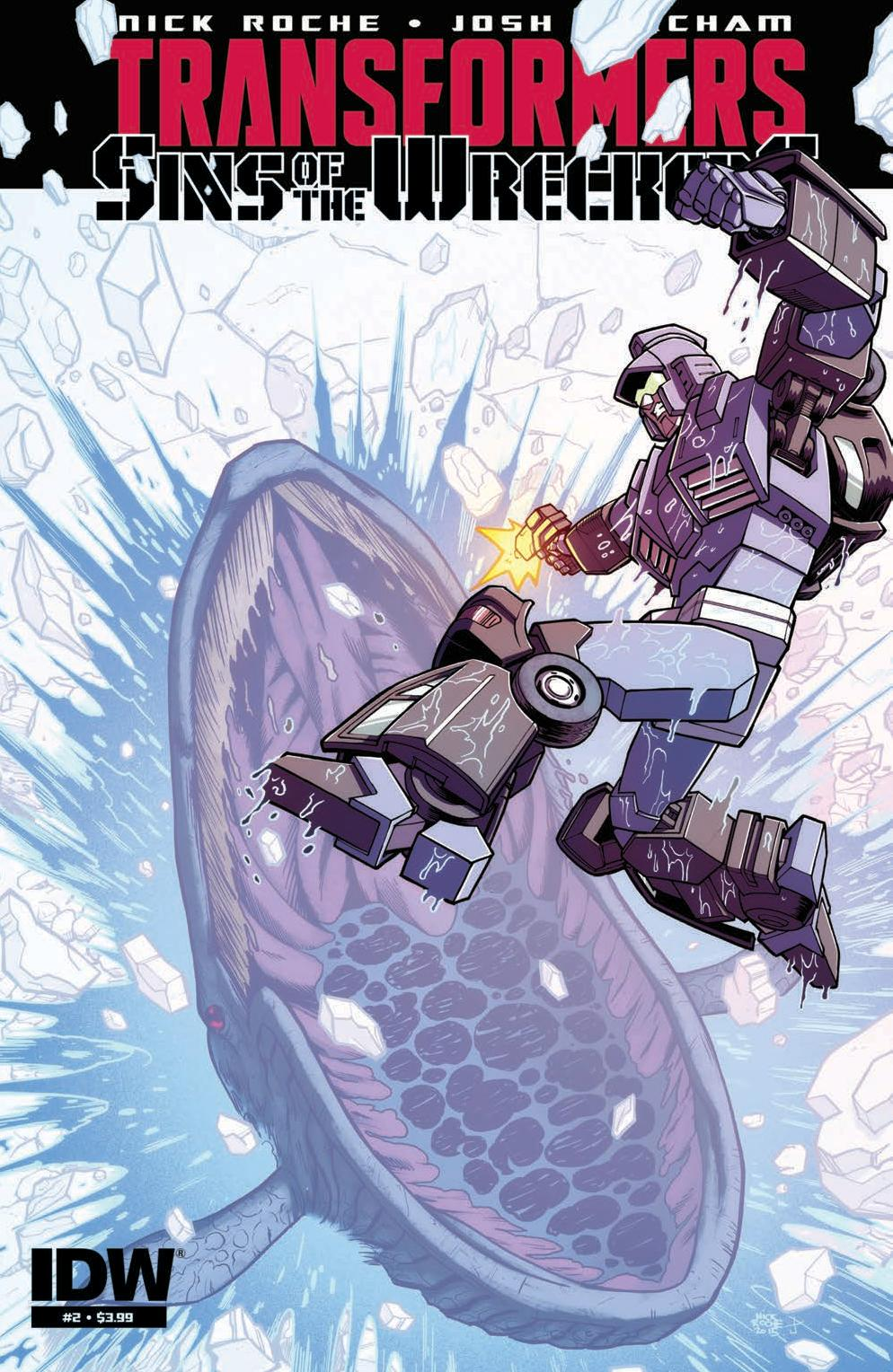 Transformers: Sins of the Wreckers #2 Cover
