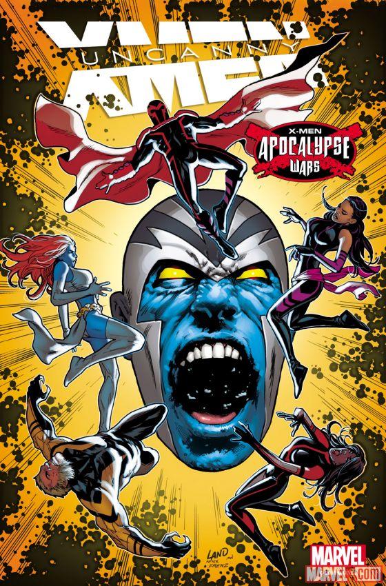 Uncanny X-Men #6 Cover by Greg Land