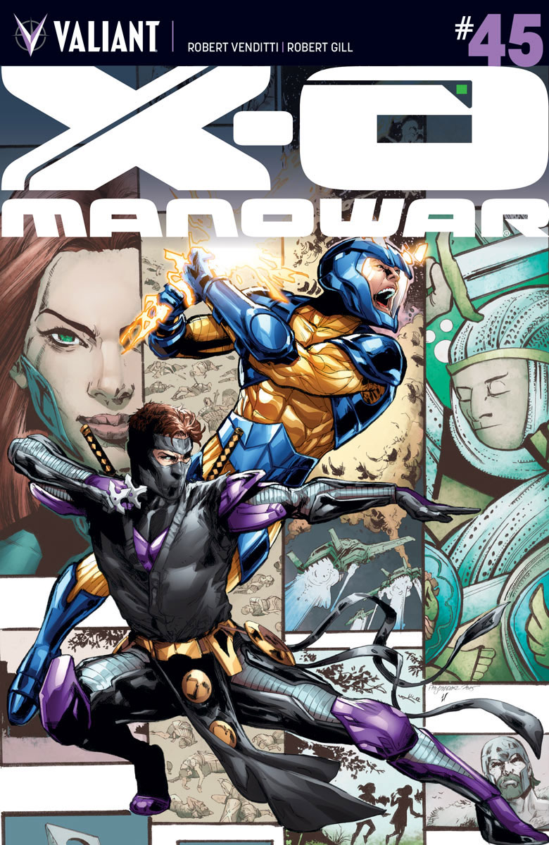 X-O Manowar #45 Cover