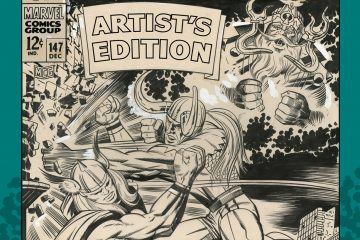 Jack Kirby's The Might Thor Artist's Edition Cover