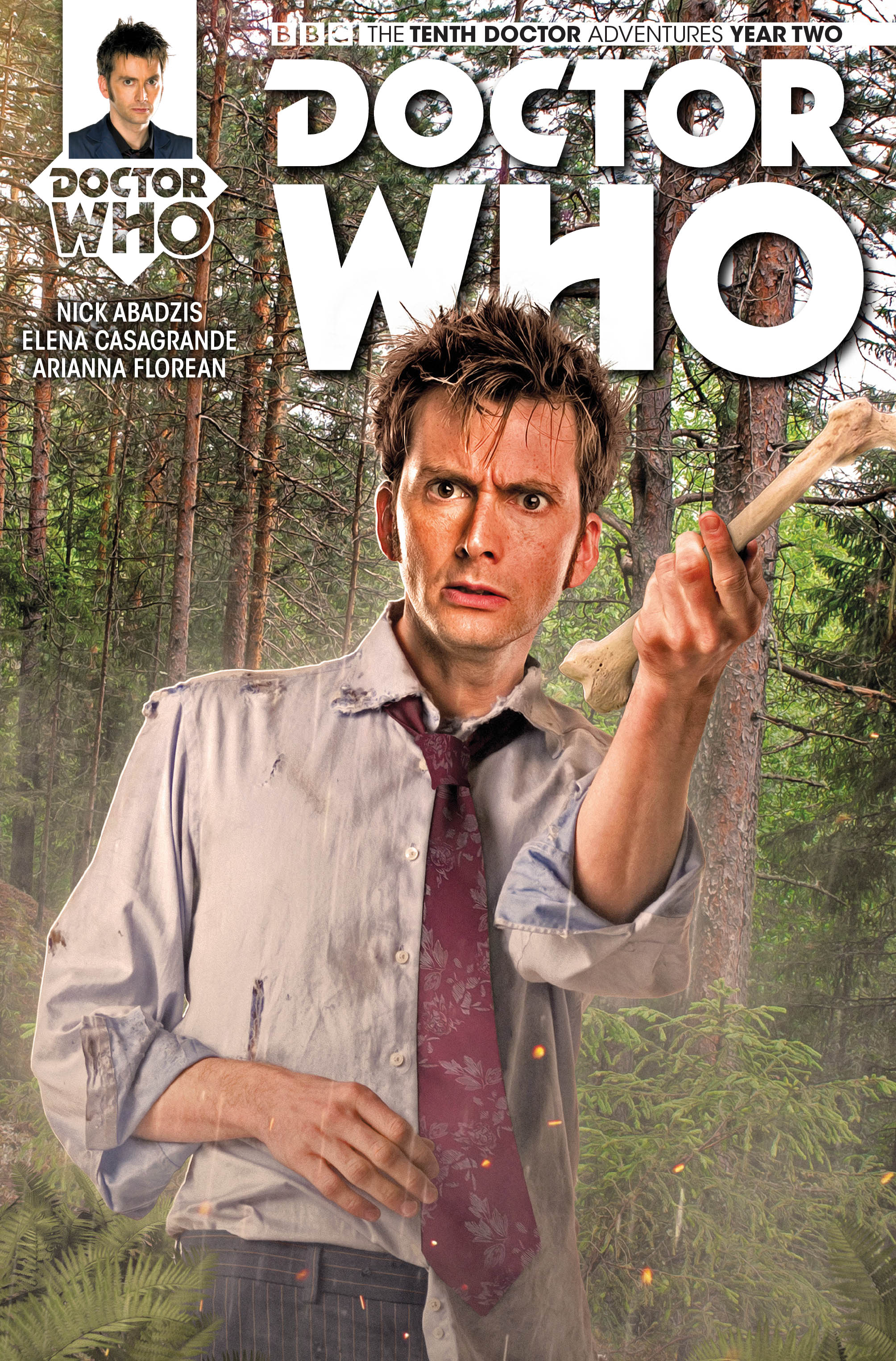 Doctor Who: The Tenth Doctor #2.5 Cover