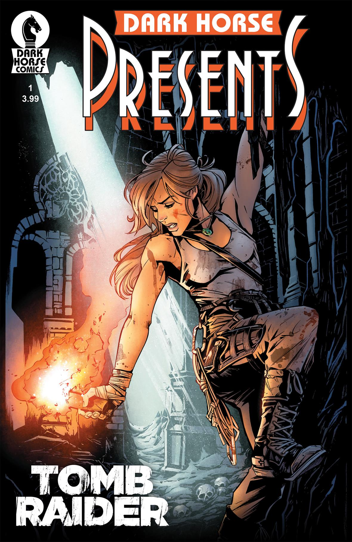 Tomb Raider #1 Cover