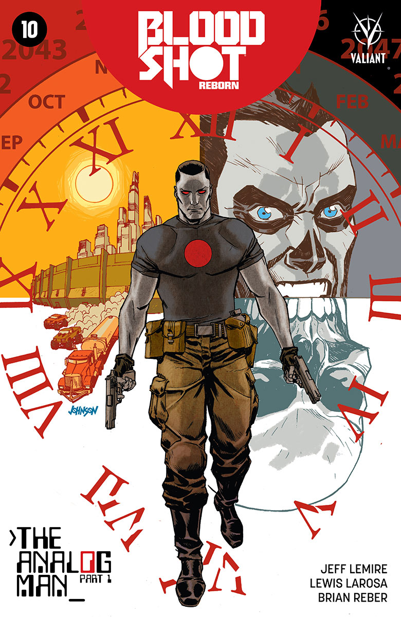Bloodshot Reborn #10 Cover