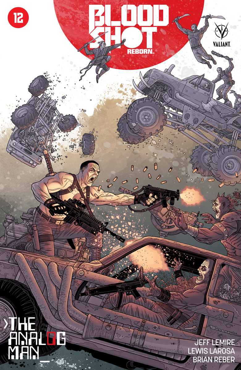 Bloodshot Reborn #12 Cover