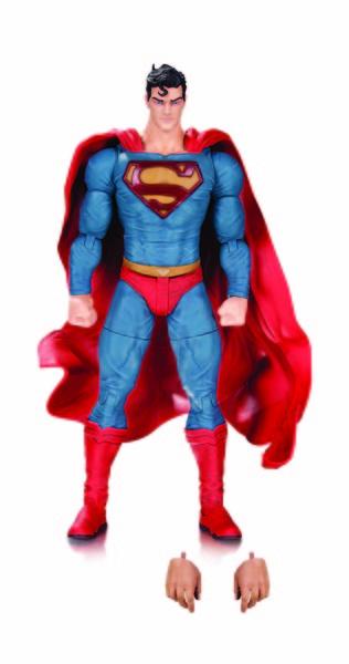 DC COMICS DESIGNER SERIES: LEE BERMEJO — BATMAN, GREEN LANTERN, SUPERMAN AND LEX LUTHOR ACTION FIGURES