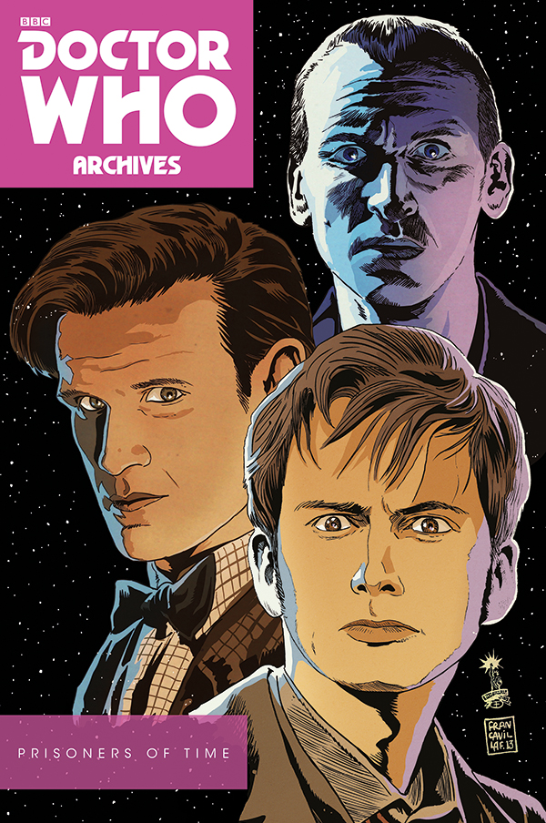 Doctor Who: Prisoners of Time Omnibus Cover