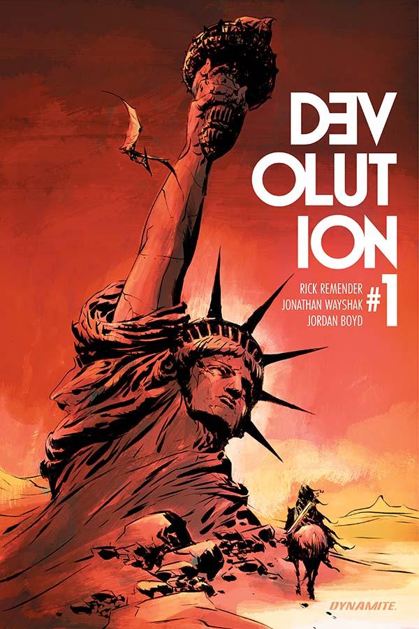 Devolution #1 Cover