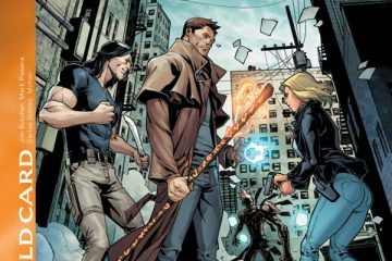 JIm Butcher's The Dresden Files: Wild Card #1 Cover