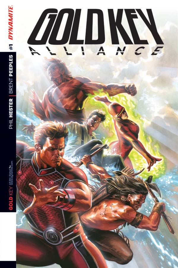 Gold Key: Alliance #1 Cover