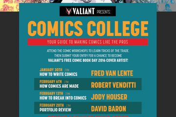 Valiant and Hastings Comics College