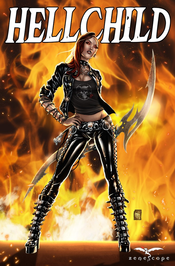 Hellchild #1 Cover