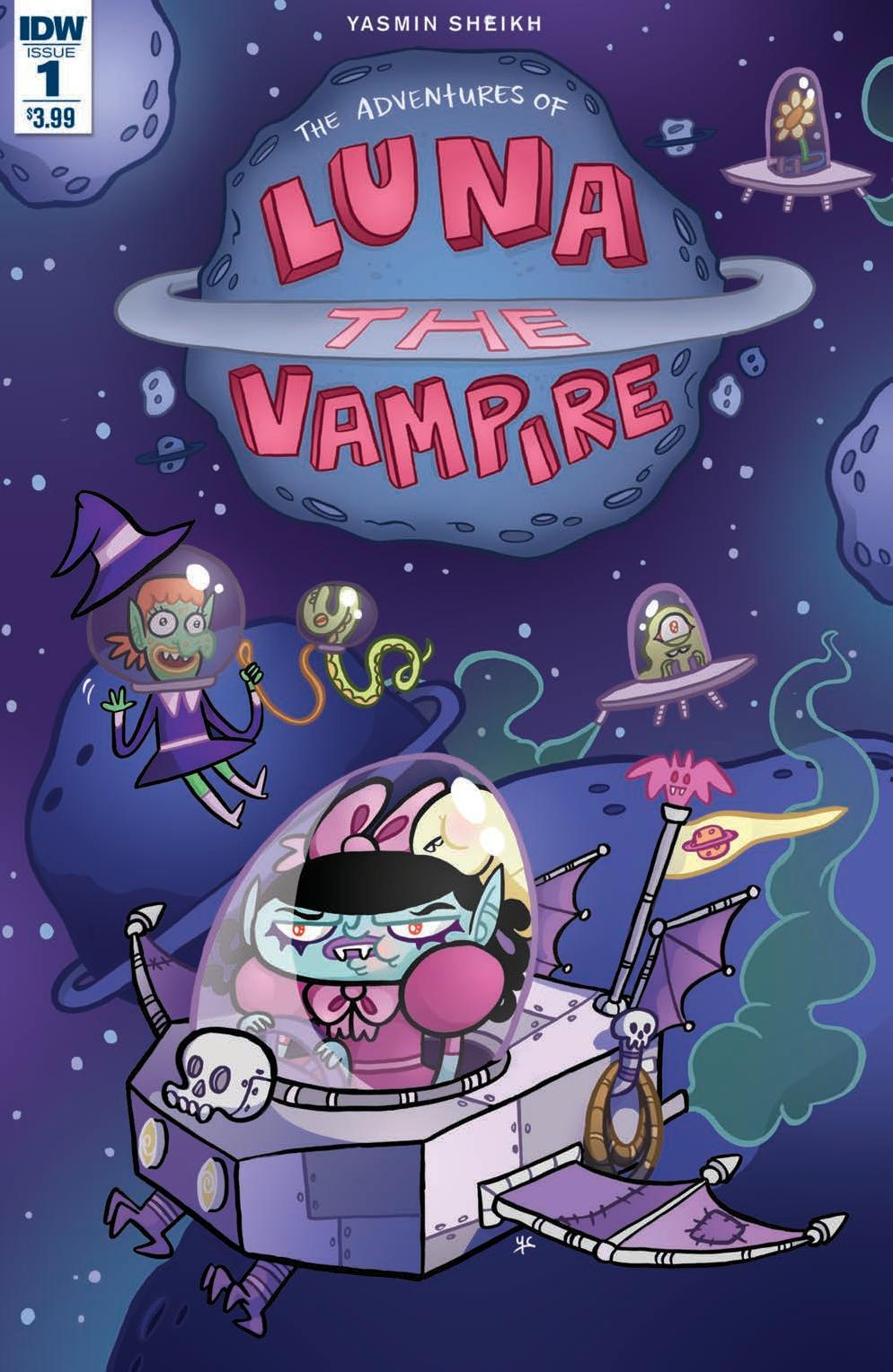 Luna the Vampire #1 Cover