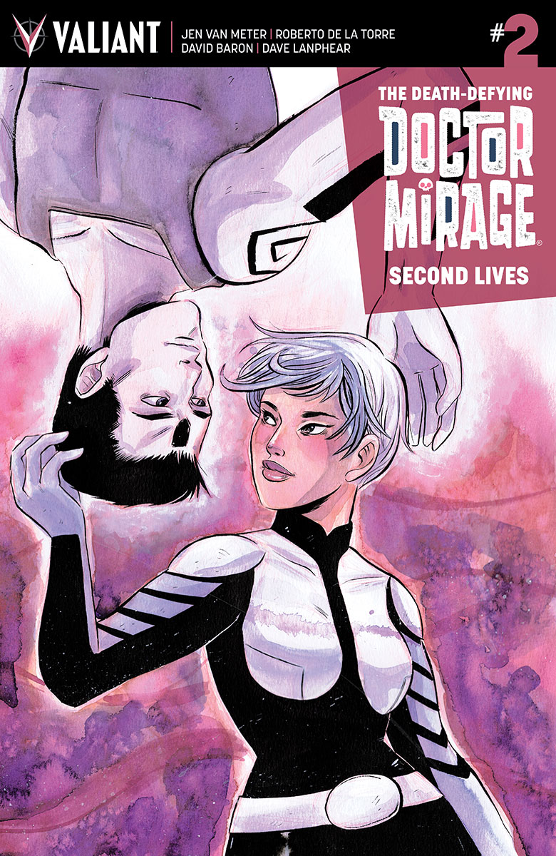 The Death-Defying Doctor Mirage #2 Cover