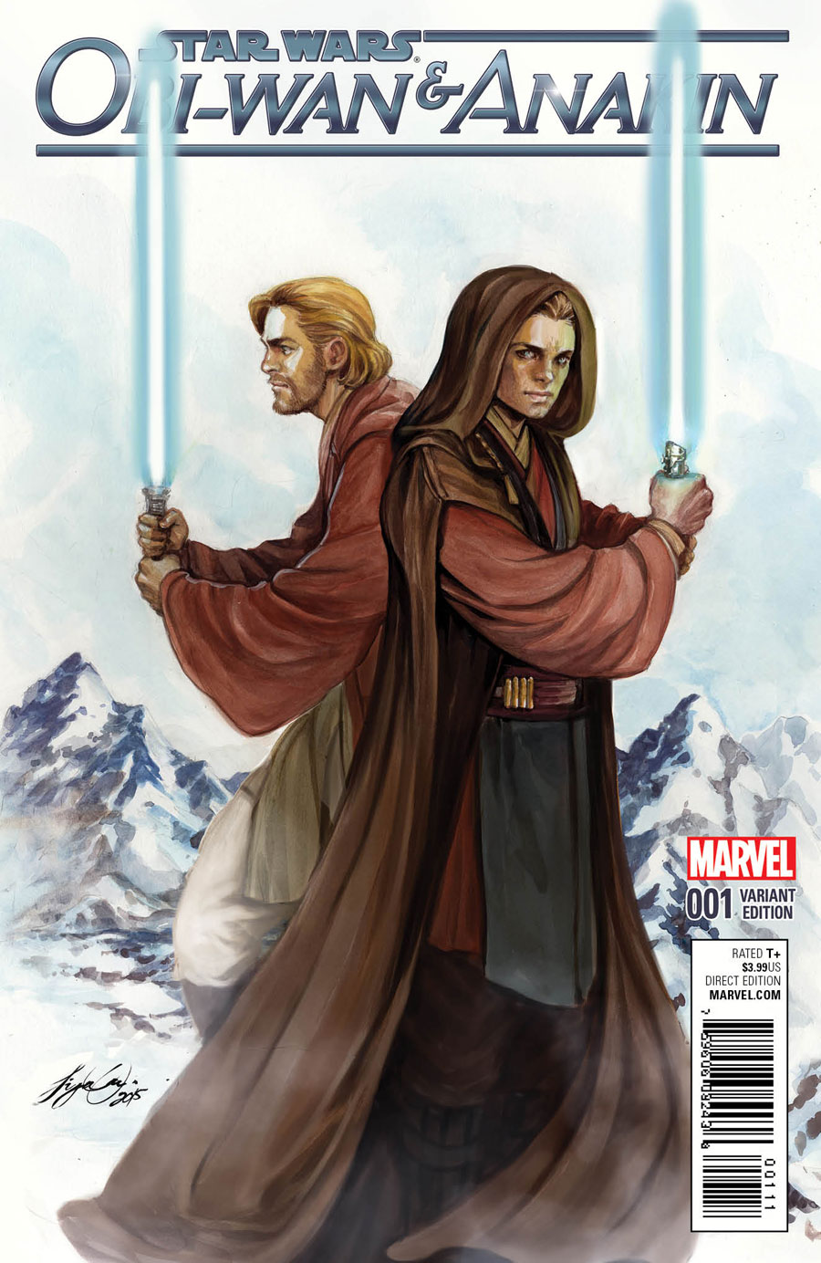 Star Wars: Obi-Wan & Anakin #1 Variant Cover by Siya Oum