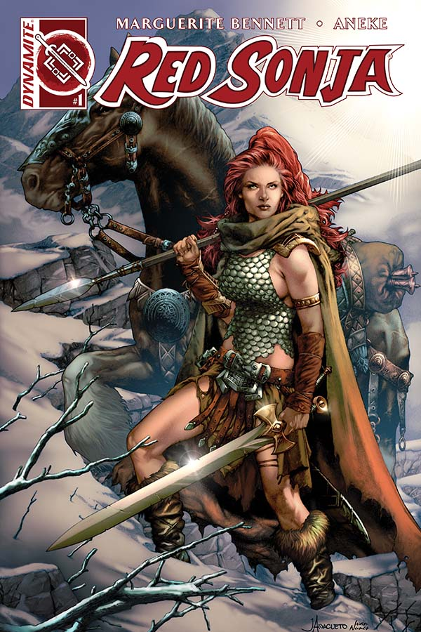 Red Sonja Vol. 3 #1 Cover