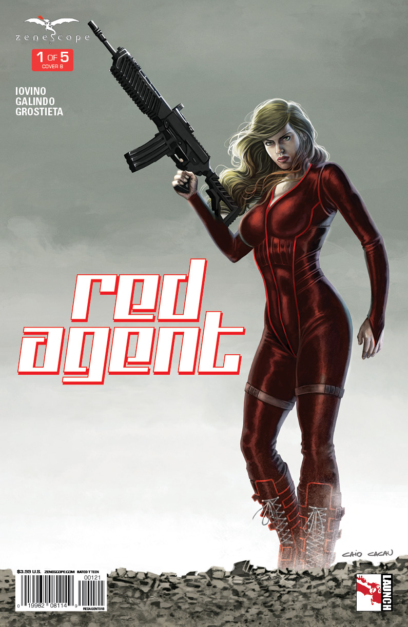 Red Agent #1 Cover