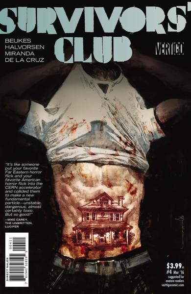 Survivor's Club #4 Cover