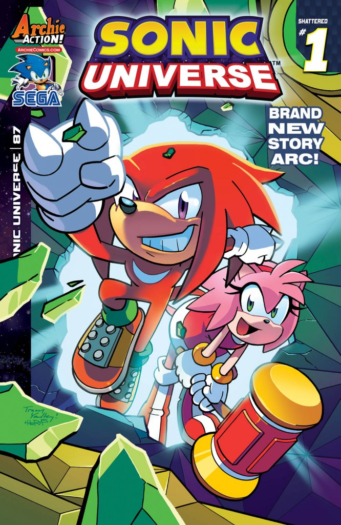 SONIC UNIVERSE #87 Cover