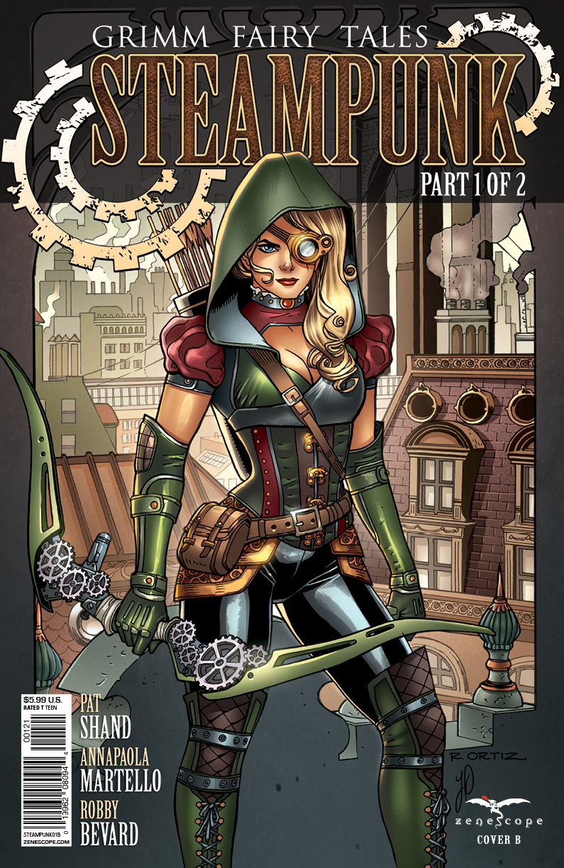 Grimm Fairy Tales: Steampunk #1 Cover