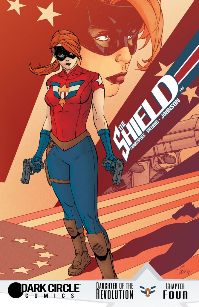 THE SHIELD #4 Cover