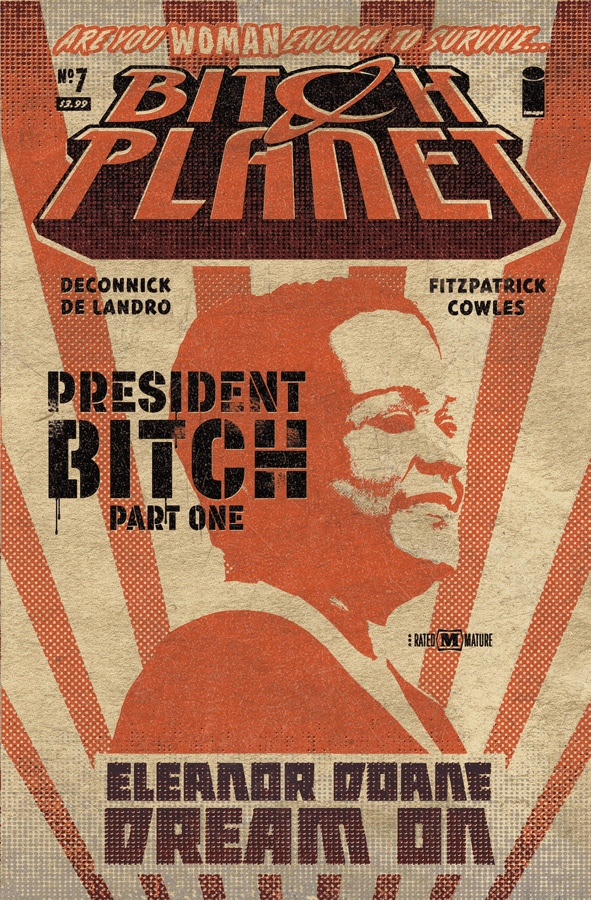 Bitch Planet #7 Cover